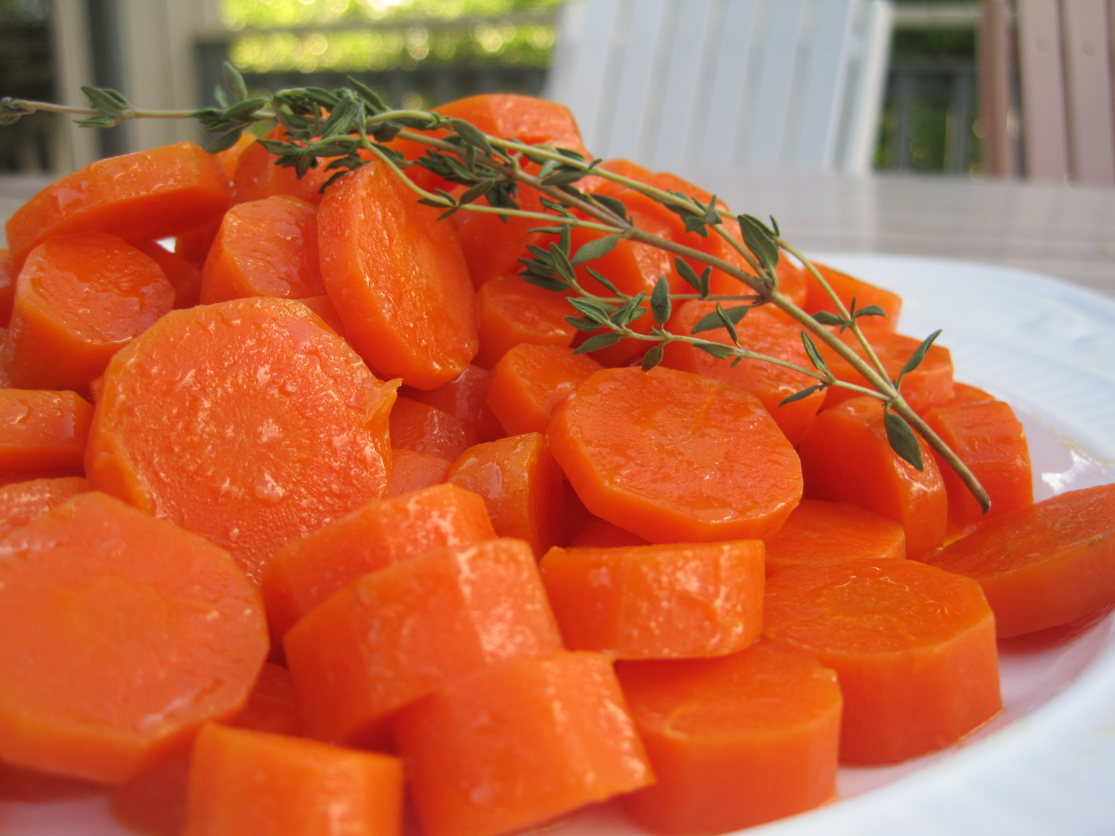 How long does it take to cook carrots
