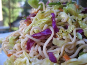 Asian Noodle and Cabbage Salad