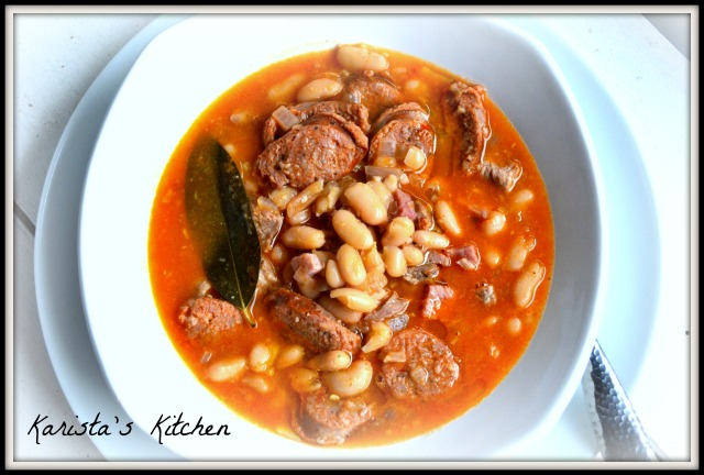 Spanish White Bean Stew