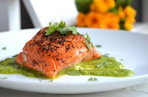 Cilantro Salmon