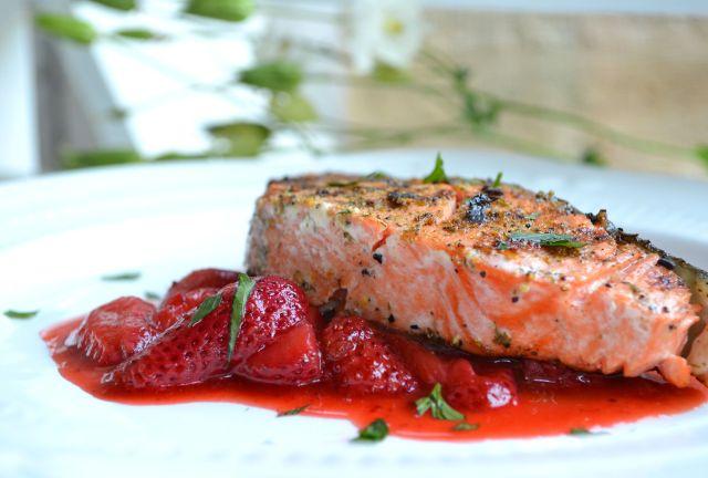 Savory Strawberry Sauce