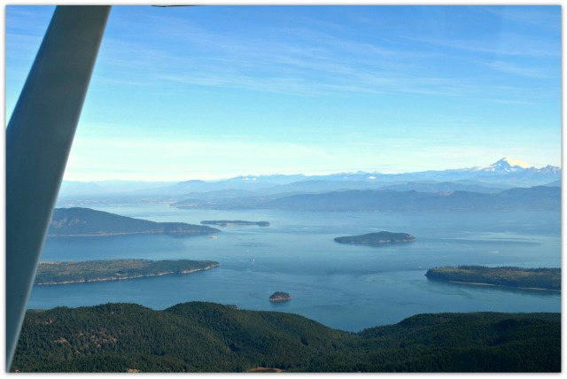 Flying San Juan Islands