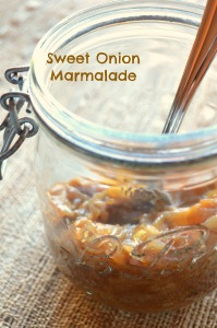 sweet onion marmalade