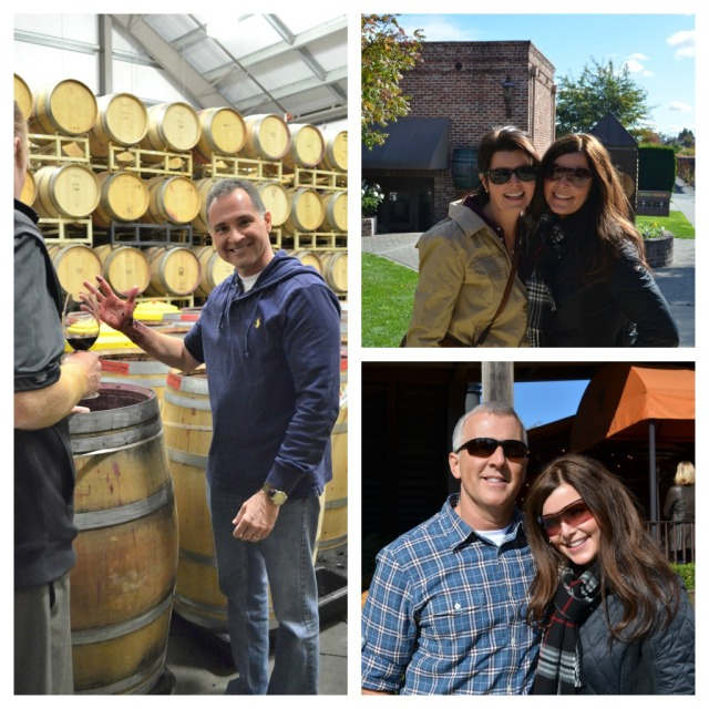 Touring Napa with Ranger Craig, Kristin and Kevin (my Sis and Brother in law)