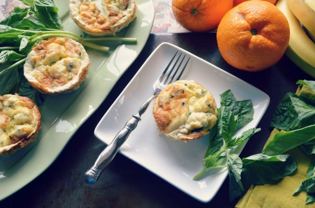 crab and egg white muffins, gluten free