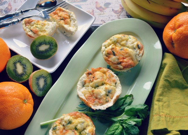 crab and egg white muffins, brunch