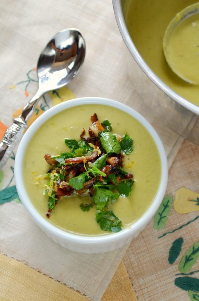 Asparagus Leek Soup